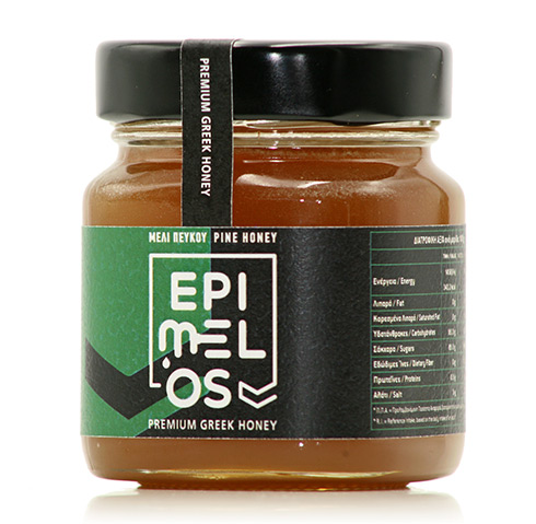 raw pine honey-epimelos-ακατέργαστο μέλι πεύκου